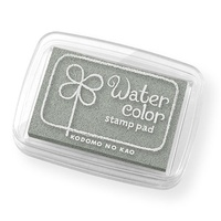 Water Color Stamp Pad Silver Metallic Made in Japan KODOMO NO KAO Brand New