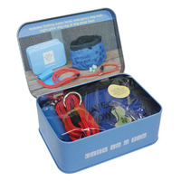 Travel Dog Essentials Kit in a Tin by Apples to Pears Gift Idea New