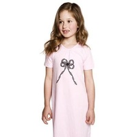 Baobab Dress With Bow Print - Pink NEW