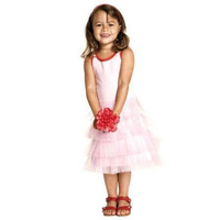 Baobab Tulle Dress Australian Designed in Pink colour