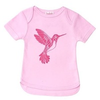 Baobab Bird Envelope Girl Tee Tshirt - Pink BNWT 1 year