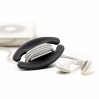 Bobino Cord Wrap Cable Buddy Small Black BNIP