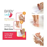 Babyink Baby Ink Colour Inkless Printing Kit Grey / Black