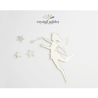 Crystal Ashley Wall Art Mirror Tinkerbell 4 Brand New