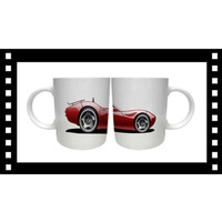 Red Sport Car Vehicle Mug Cup One only