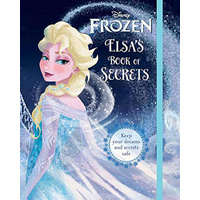 Disney Frozen Elsa's Book of Secrets New
