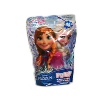 Disney Frozen Puzzle on the Go in Resealable Bag New