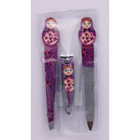 Nail Clipper File Glam Pack Babushka Matryoshka Russian Set