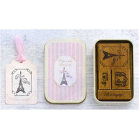 Japanese Petit Musee Stamp Set Paris by Kodomo No Kao