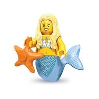 Lego 71000 LEGO Minifigure Series 9 No 12 Mermaid New in Opened Packaging