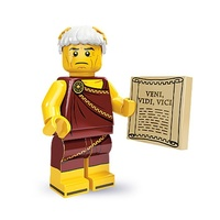 Lego 71000 LEGO Minifigure Series 9 No 5 Roman Emperor New in Opened Packaging
