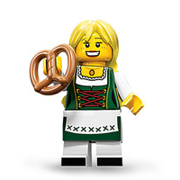 Lego 71002 Series 11 Minifigures No 3 Pretzel Girl New