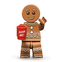 Lego 71002 Series 11 Minifigures No 6 Gingerbread Man New