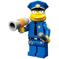 Chief Wiggum Lego 71005 LEGO Minifigure Simpsons Series 1 New in Opened Packaging New
