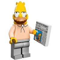 Grandpa Simpson Lego 71005 LEGO Minifigure Simpsons Series 1 New in Opened Packaging New