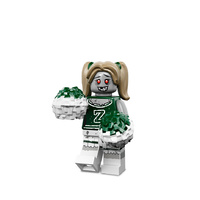 LEGO 71010 Monsters Series 14 Minifigures No 8 Zombie Cheerleader New