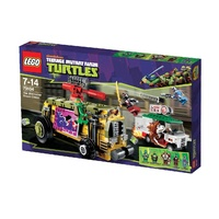 LEGO 79104 Teenage Mutant Ninja Turtles The Shellraiser Street Chase NEW in Box