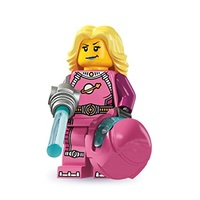 Lego 8827 Series 6 Minifigures No 13  Intergalactic Girl New in Opened Package