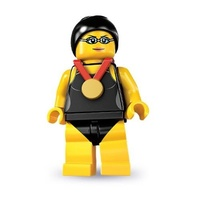 Lego 8831 Series 7 Minifigures No 1 Swimming Champion New