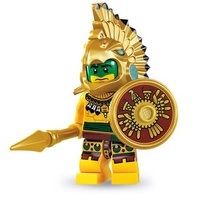 Lego 8831 Series 7 Minifigures No 2 Aztec Warrior New