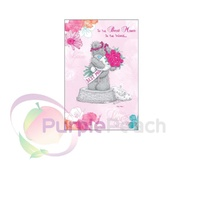 The Best Mum In The World Me to You Tatty Teddy Bear Mothers Day Greetings Card