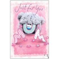 Just for You Mum Me to You Tatty Teddy Bear Mothers Day Greetings Card
