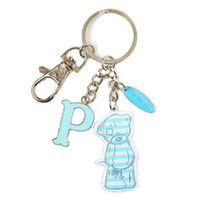 Me To You Tatty Teddy Bear Letter P Keyring with Charms by Carte Blanche