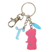Me To You Tatty Teddy Bear Letter T Keyring with Charms by Carte Blanche