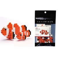 Nanoblock Mini Critters Series by Kawada Clownfish NEW