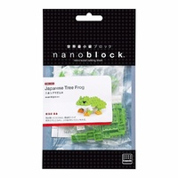Nanoblock Mini Critters Series by Kawada Japanese Tree Frog NBC 007 NEW