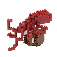 Nanoblock Mini Critters Series Common Octopus by Kawada NBC 134 NEW