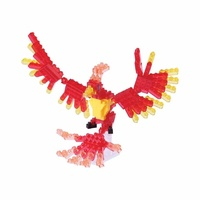 Nanoblock Mini Critters Series Phoenix by Kawada NBC 175 NEW