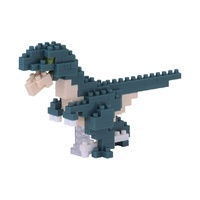 Nanoblock Mini Dinosaur Series Dinonix by Kawada NBC 182 NEW