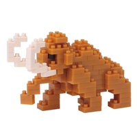 Nanoblock Mini Critters Series Mammoth by Kawada NBC 186 NEW