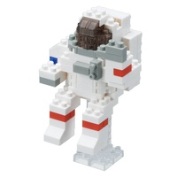 Nanoblock Mini Critters Series Astronaut by Kawada NBC 198 NEW
