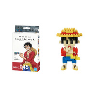 Nanoblock One Piece Japan Anime Manga Series by Kawada Luffy NBCC_045 NEW