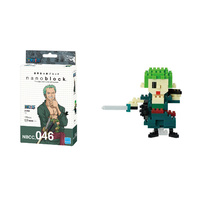 Nanoblock One Piece Japan Anime Manga Series by Kawada Zoro NBCC_046 NEW