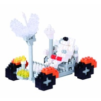 Nanoblock Mini Sites to See Series by Kawada Lunar Rover NBH 085