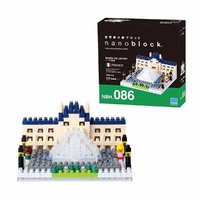 Nanoblock Mini Sites to See Series by Kawada Musee Du Louvre France NBH 086 NEW
