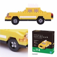 Nanoblock Mini Sites to See Series by Kawada New York Taxi NBH 114 NEW
