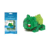 Nanoblock Pokemon Series by Kawada Bulbasaur NBPM-003 NEW
