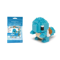 Nanoblock Pokemon Series by Kawada Squirtle NBPM-004 NEW