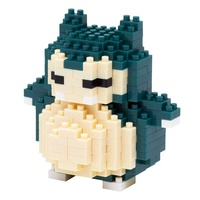 Nanoblock Pokemon Series by Kawada Snorlax NBPM-012 NEW