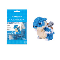 Nanoblock Pokemon Series by Kawada Blastoise NBPM-019 NEW