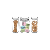 New Potatoo Temporary Tattoo BISCUITS AND MACAROONS