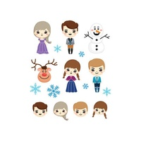Potatoo Premier Temporary Tattoo Ice Princess Kids Set