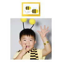 Potatoo Temporary Tattoo Kids Safe Honey Bee New