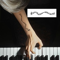 Potatoo Temporary Tattoo MUSIC NOTE