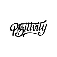 New Potatoo Temporary Tattoo POSITIVITY BY GLORY