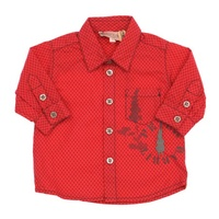 Peter Rabbit -Floriane Collection Long Sleeve Shirt Red